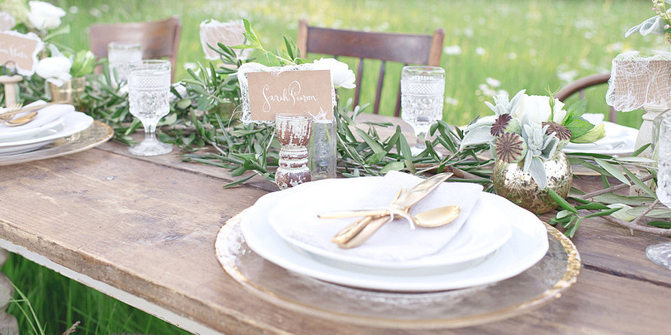 DIY Ideas For a Fall Wedding Tablescape