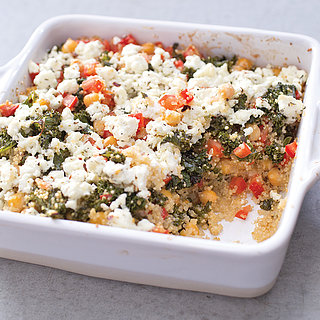 Baked Quinoa Casserole With Kale and Chickpeas