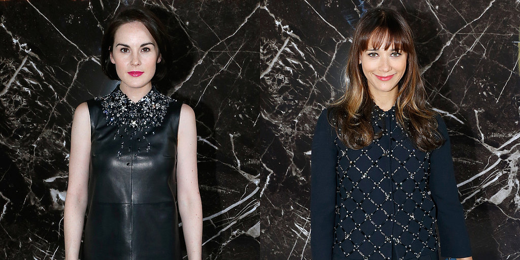 Dakota and Katy Take in Louis Vuitton, Miu Miu, and More Paris Shows