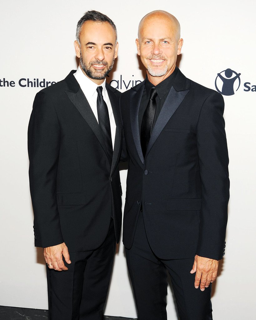 Francisco Costa and Italo Zucchelli represented Calvin Klein at the label's first Save the Children Benefit.