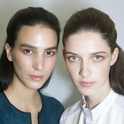 Hermes Spring 2014 Hair and Makeup | Runway Pictures