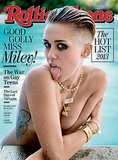 Miley Cyrus landed on the cover of Rolling Stone's October issue and took part in a revealing interview where she showed that there was a lot more to the pop star than twerking and tongue poses. She let slip that her mom embarrassed her in front of Kanye West at the VMAs, that Steve Carell probably doesn't think she's a good neighbor, and that her new image isn't about being seen as sexy.