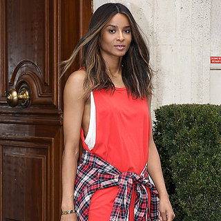 Ciara at Paris Fashion Week Spring 2014