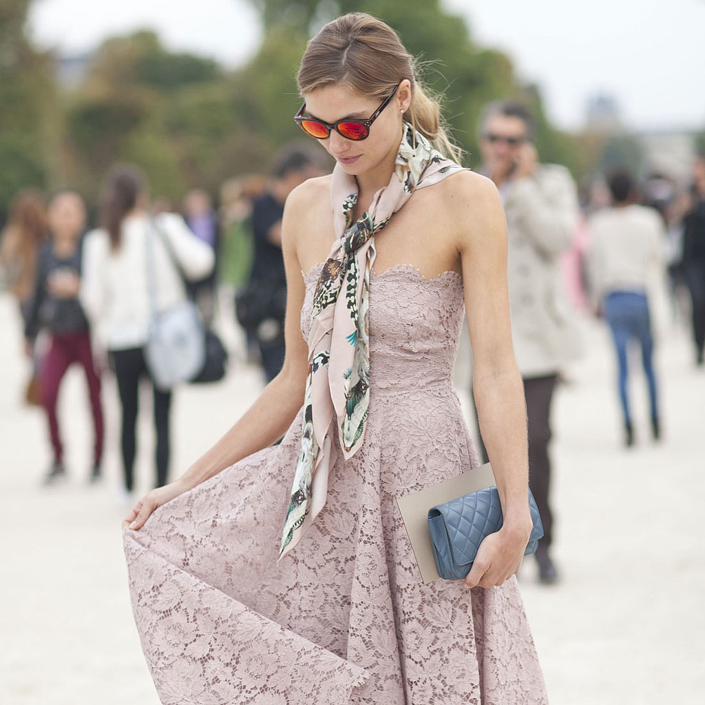 Best Street Style Paris Fashion Week Spring 2014 Pictures Popsugar Fashion