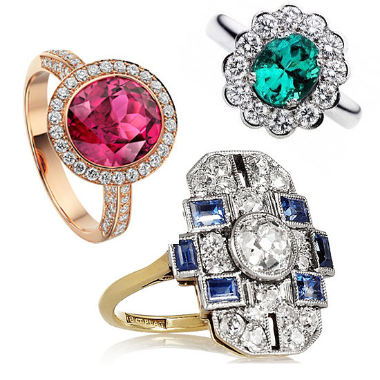Engagement Ring Inspiration: 20 Stunning Coloured Stones