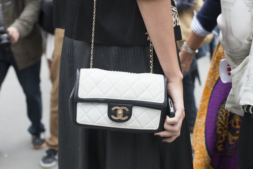 A perfectly prim Chanel.
