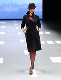 Miranda Kerr, who was named brand ambassador for Qantas, represented her homeland and debuted  the company's newly designed uniforms during a special runway show in April of 2013.
