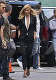 Gwyneth Paltrow filmed in LA on Thursday.