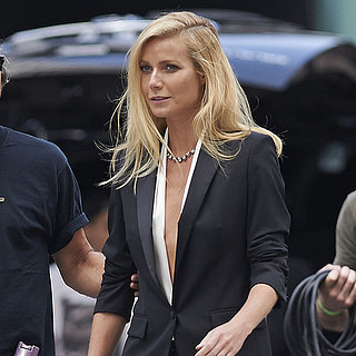 Gwyneth Paltrow Filming Hugo Boss Campaign
