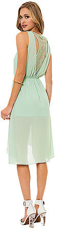 *MKL Collective The Lazy Day Dress in Mint