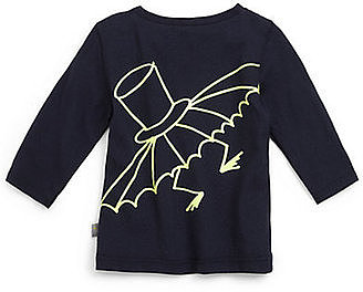 Stella McCartney Kids Glow-in-the-Dark Bat Tee
