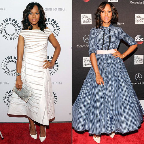 Kerry Washington Scandal Promotion Style 2013