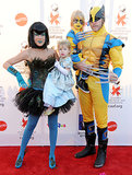 Tori Spelling, Dean McDermott, Liam, and Stella made for an eclectic bunch on Halloween in 2011.