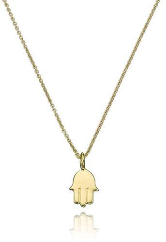Sarah Chloe Gold Mini Hamsa Pendant