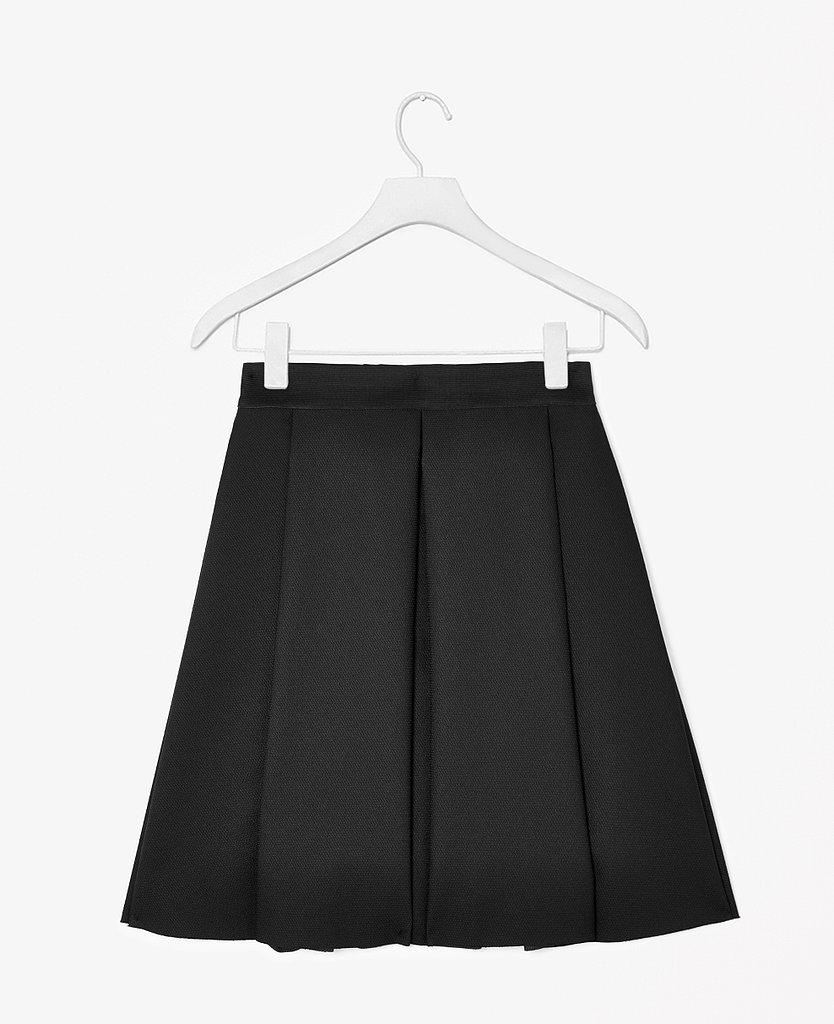 Experiment with skirt shapes this season. If you've always opted for a pencil, try a flared A-line option ($127).