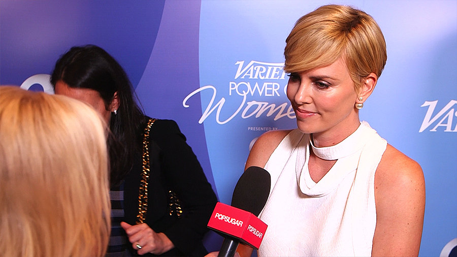 "Charlize Theron on Being Inspired by Her Son: ""I Don't Want to Look at Him and Say, 'I Did Nothing'"""