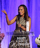 Kerry Washington took the stage at the Power of Women event.