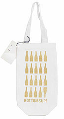 Bottoms Up Wine Tote