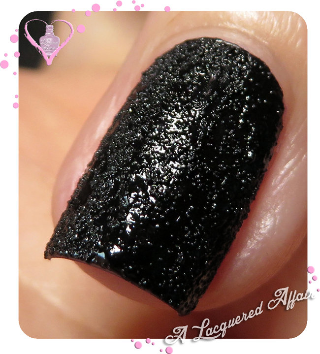 China Glaze Bump In The Night macro