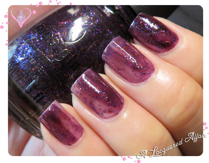 China Glaze Howl You Doin', 1 coat