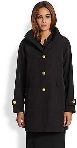 Jane Post A-Line Military Coat