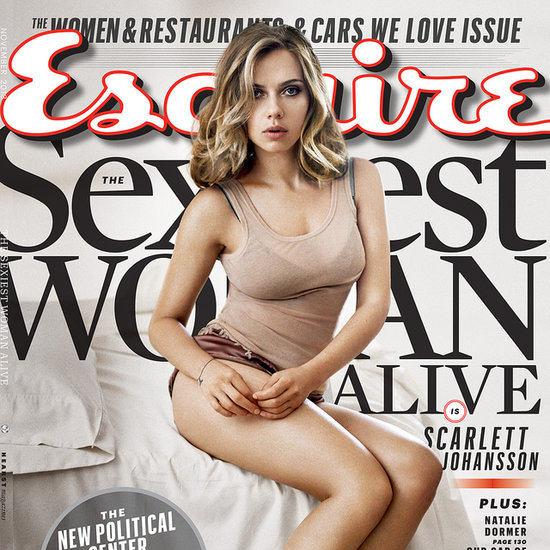 Scarlett Johansson Is the Sexiest Woman Alive 2013