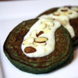 Healthy Pancake Recipe With Spinach Blueberry & Banana