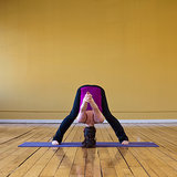 Wide-Legged Forward Bend Pose