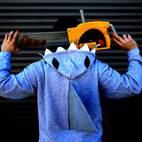 DIY Sharknado Hoodie Costume | Video