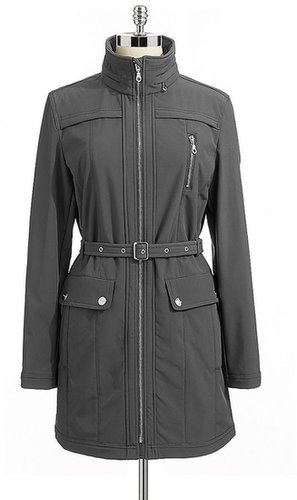 Yoked Zip Front Trench
