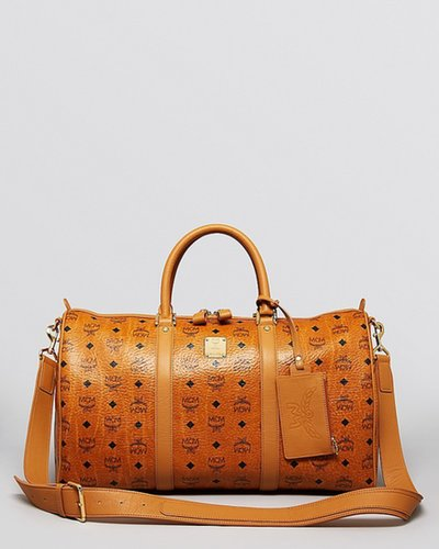 MCM Stark Medium Weekender Bag