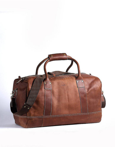 COLE HAAN Hermitage Leather Duffel Bag