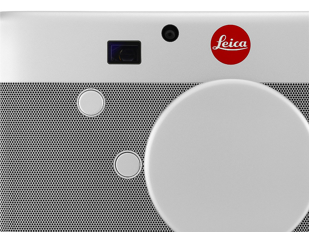 Leica M For (RED) — Lens Cap Close-Up