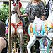 Ellen Pompeo took little Stella on a carousel ride.