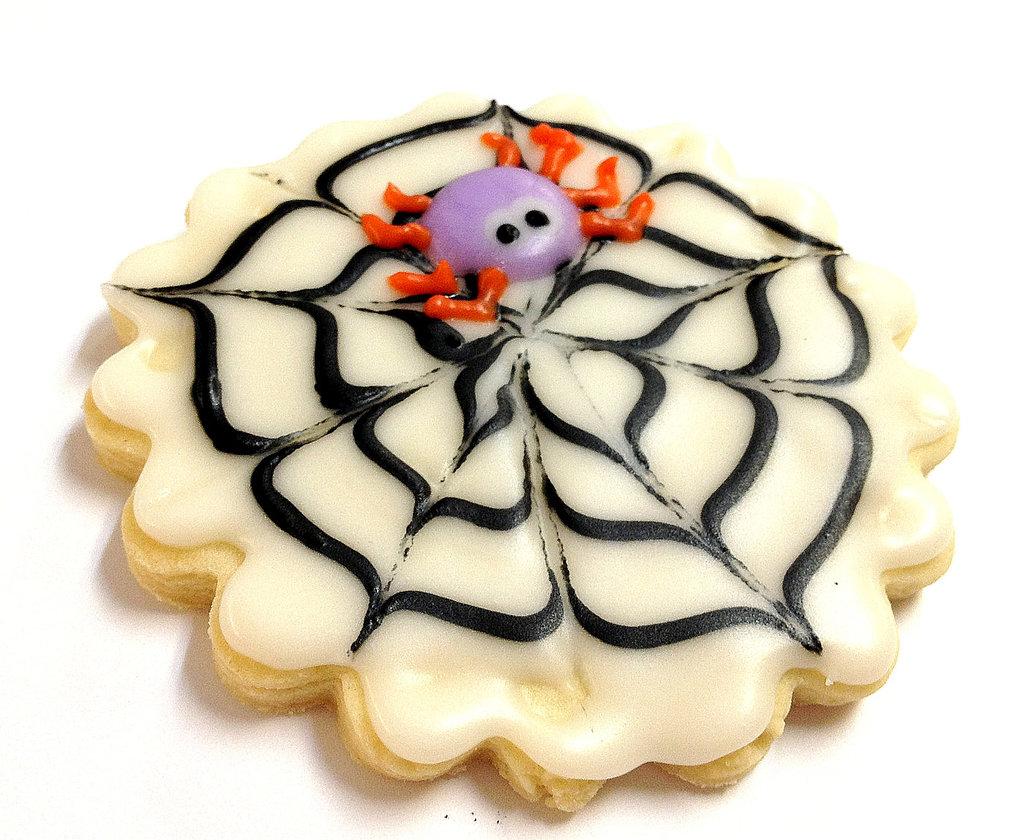 Spider Web Cookies