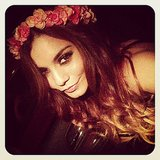Vanessa Hudgens snapped a smoky-eyed selfie. Source: Instagram user vanessahudgens