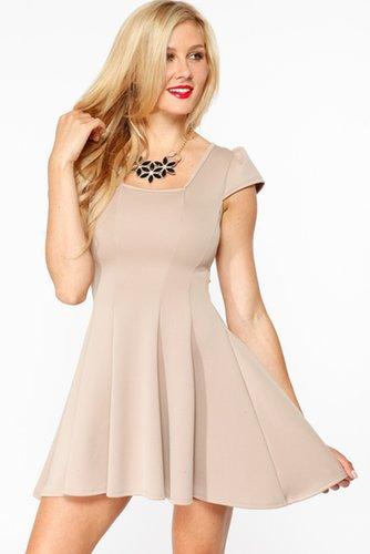 Form Fitting Skater Dress @ Cicihot sexy dresses,sexy dress,prom dress,summer dress,spring dress,prom gowns,teens dresses,sexy p