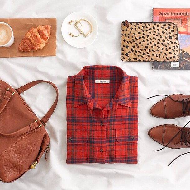 Madewell enticed us for Fall with an autumnal selection. Source: Instagram user madewell1937