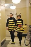 Super Fun Night Helen-Alice (Liza Lapira) and Marika (Lauren Ash) go as bumblebees.
