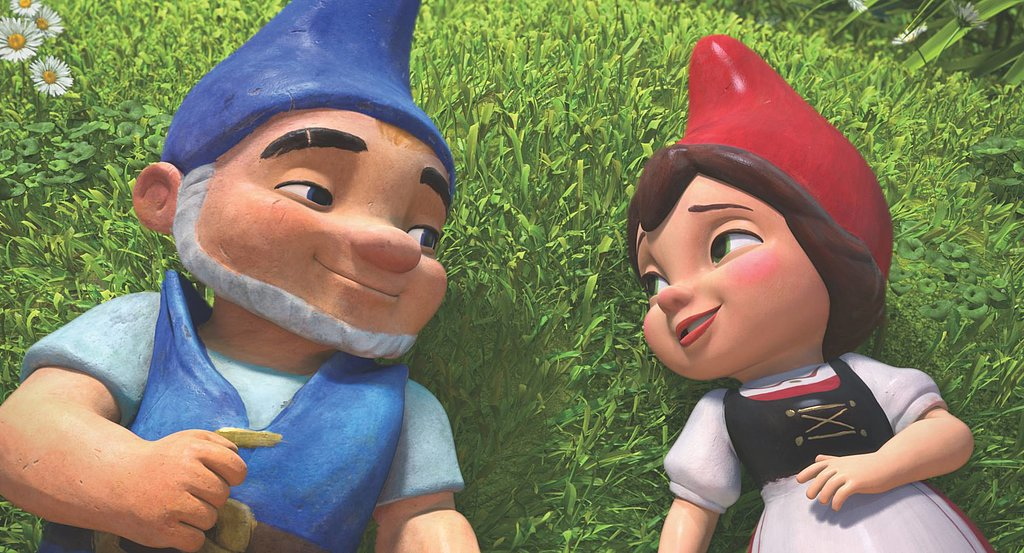 In 2011, the classic tale was transformed into Gnomeo & Juliet, an animated film for children. Emily Blunt voiced the Juliet character, but thankfully this adaptation had a happy ending for Gnomeo and his Juliet. This animated Juliet wasn't decked out in princess attire, though. Her red Phrygian cap and tucked-under coif had a rustic quality about them. Source: Facebook user Gnomeo and Juliet