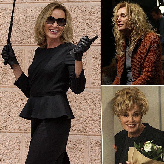 Jessica Lange The anchor of American Horror Story, Lange stars as Supreme Witch Fiona Goode on Coven. She took on Sister Jude Martin, a party girl turned nun turned institution patient on Asylum after appearing in the first season as Constance Langdon, the Harmons' nosy neighbor. It's nice to see her back in shape (mentally) this season.