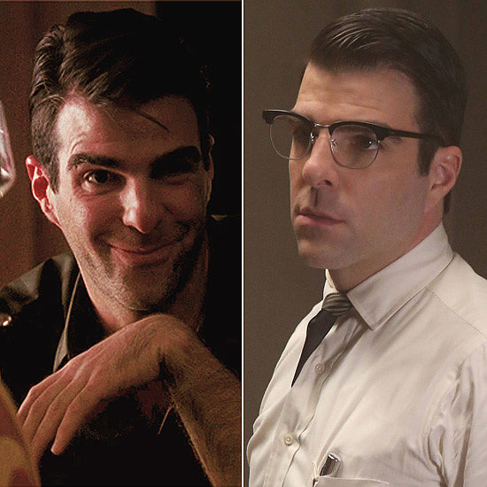 "Zachary Quinto Quinto played Chad Warwick, a former owner of the ""Murder House,"" in a handful of episodes on season one. He returned with a bigger role as the mysterious Dr. Oliver Thredson on Asylum. Spoiler alert: he's Bloody Face."