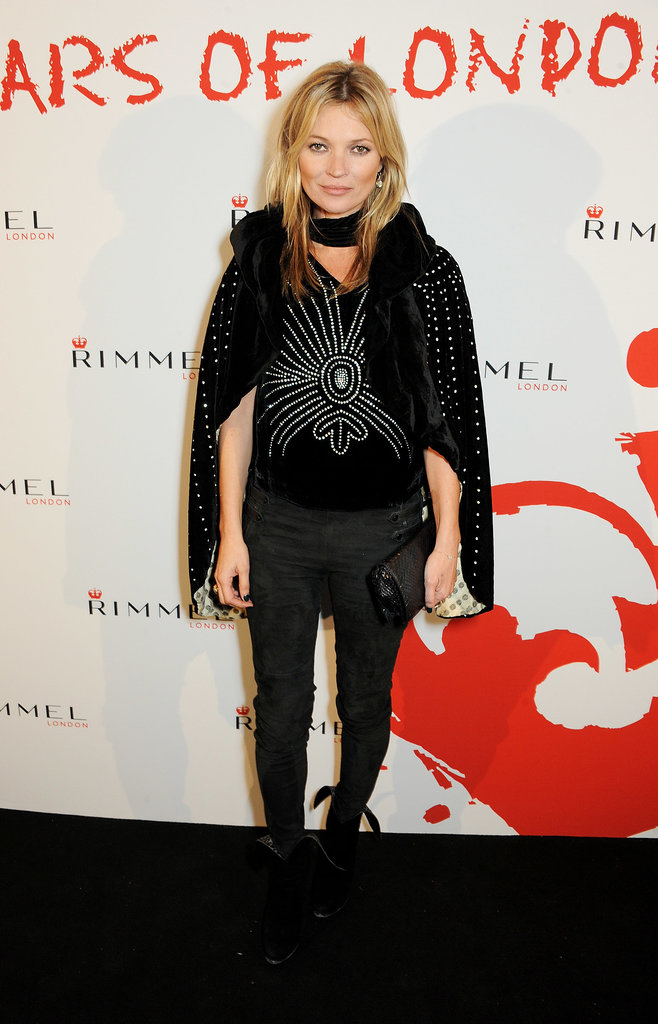 Kate Moss helped Rimmel celebrate 180 Years of Cool at the London Film Museum.