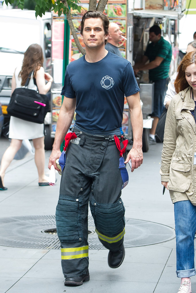 His Firefighter Look