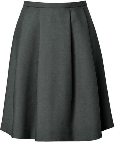 Tara Jarmon Circle Skirt in Bouteille