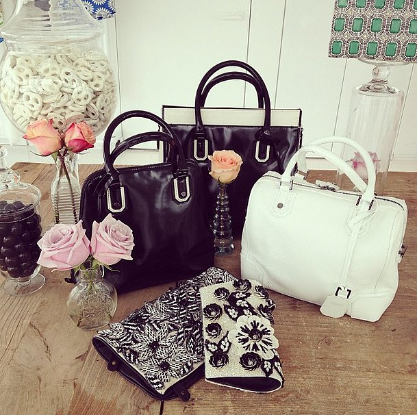 We instantly fell in love with the handbag lineup from Alice + Olivia Spring 2014.