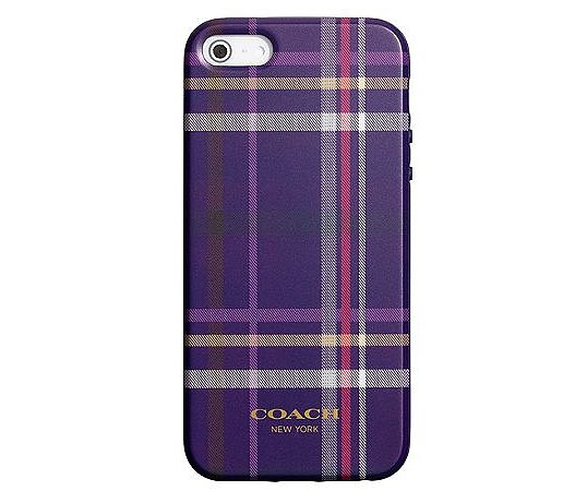 There's no such thing as too much plaid during the Fall, and this printed iPhone case ($38) is purple proof.