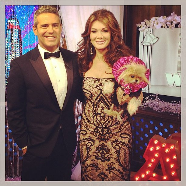 A formal affair, like the Watch What Happens wedding of Giggy Vanderpump, calls for black-tie attire. Source: Instagram user bravoandy