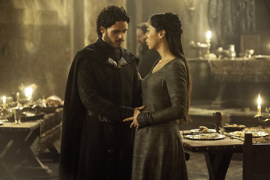 Robb and Talisa From Game of Thrones