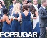 Jessica Simpson spoke to the bride, Lauren Auslander.